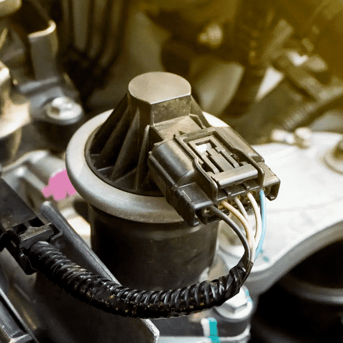EGR cooling system recirculates exhaust gases back into the engine in order to decrease cylinder temperatures